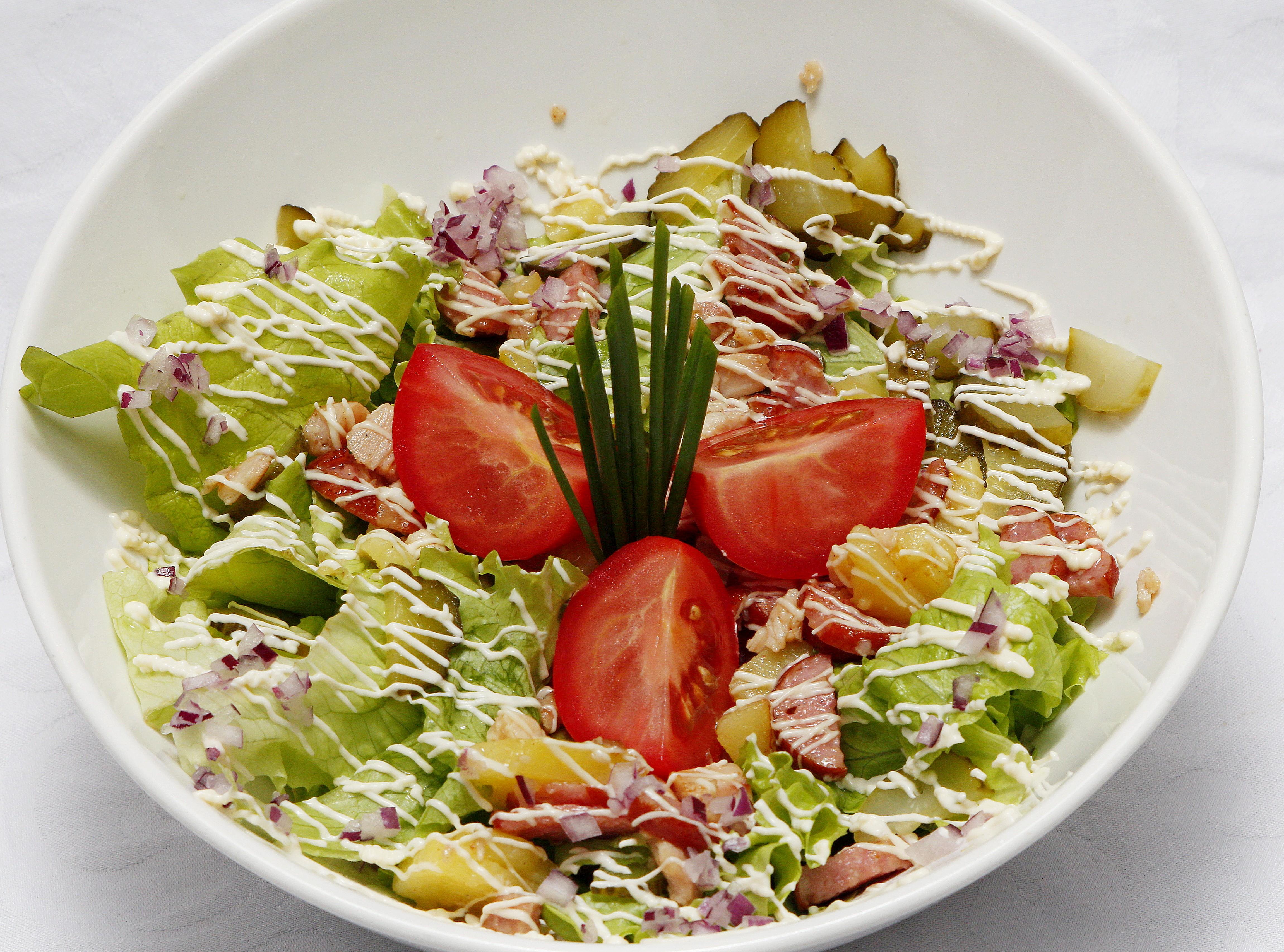 Берлинский салат с говядиной рецепт пошагово